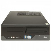 Calculator FUJITSU SIEMENS E400 SFF, Intel Core i3-2100 3.10GHz, 4GB DDR3, 500GB SATA, DVD-RW