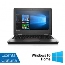 Laptop Refurbished LENOVO Yoga 11e, Intel Celeron N2930 Quad Core 1.80GHz, 4GB DDR3, 320GB SATA + Windows 10 Home
