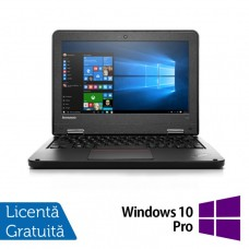 Laptop Refurbished LENOVO Yoga 11e, Intel Celeron N2930 Quad Core 1.80GHz, 4GB DDR3, 320GB SATA + Windows 10 Pro