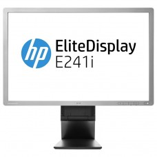 Monitor Refurbished HP EliteDisplay E241i, 24 inch, IPS, LED, VGA, DVI, USB, Full HD