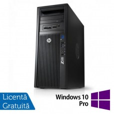 Gaming Workstation HP Z420, CPU Intel Xeon E5-1650 V2 3.50GHz-3.90GHz HEXA Core, 32GB DDR3 ECC, SSD 240GB + 2TB HDD, nVidia GeForce GTX 1050/2GB 128biti + Windows 10 Pro 64 biti