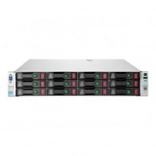 Server Refurbished HP ProLiant DL380e G8, 2U, 2x Intel Octa Core Xeon E5-2450L 1.8 GHz-2.3GHz, 64GB DDR3 ECC Reg, 4 x 450GB SAS/10K/2,5 on 3,5 adapter, Raid Controller HP SmartArray P420/1GB, iLO 4 Advanced, 2x Surse Hot Swap 750W