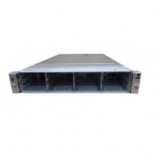Server HP ProLiant DL380e G8, 2U, 2x Intel Octa Core Xeon E5-2450L 1.8 GHz-2.3GHz, 128GB DDR3 ECC Reg, 12 x 3.5 inch bays, no HDD, Raid Controller HP SmartArray P420/1GB, iLO 4 Advanced, 2x Surse Hot Swap 750W