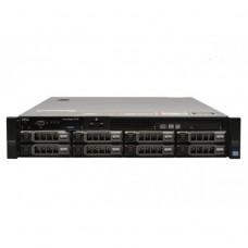 Server Dell PowerEdge R720, 2x Intel Xeon Octa Core E5-2670, 2.60GHz - 3.30GHz, 256GB DDR3 ECC, 2 x SSD 240GB SATA + 2 x 2TB HDD SAS + 4 x 3TB HDD SATA, Raid Perc H710 mini, Idrac 7 Enterprise, 2 surse HS