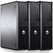 Pachet 3 x Calculator Dell 780 Desktop, Intel Pentium E5300 2.60GHz, 4GB DDR3, 320GB SATA, DVD-ROM