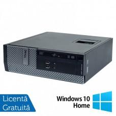 Calculator DELL 3010 SFF, Intel Core i3 3220 3.30GHz, 4GB DDR3, 250GB SATA, DVD-ROM + Windows 10 Home
