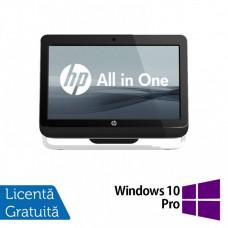 All In One HP Pro 3520, 20 Inch, Intel Core i3-3220 3.30GHz, 4GB DDR3, 500GB SATA, DVD-RW + Windows 10 Pro