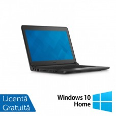 Laptop DELL Latitude 3350, Intel Core i3-5005U 2.00GHz, 8GB DDR3, 500GB SATA, Wireless, Bluetooth, Webcam, 13.3 Inch + Windows 10 Home