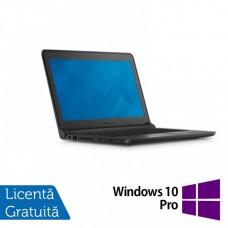 Laptop DELL Latitude 3350, Intel Celeron 3215U 1.70GHz, 4GB DDR3, 500GB SATA, Wireless, Bluetooth, Webcam, 13.3 Inch + Windows 10 Pro