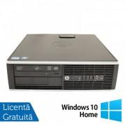 Calculator HP 8200 SFF, Intel Pentium G645 2.90GHz, 8GB DDR3, 500GB SATA, DVD-ROM, Port Serial, Display Port + Windows 10 Home (Top Sale!)