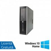 Calculator HP Compaq Elite 8300 SFF, Intel Core i5-3470s 2.90GHz, 8GB DDR3, 320GB SATA, DVD-RW + Windows 10 Home