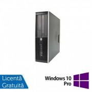 Calculator HP Compaq Elite 8300 SFF, Intel Core i5-3470 3.20GHz, 8GB DDR3, 500GB SATA, DVD-RW + Windows 10 Pro