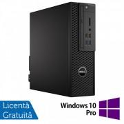 Workstation Dell Precision 3420 SFF, Intel Core i5-6500 3.20GHz - 3.60GHz, 32GB DDR4, 256GB NVMe SSD + 1TB HDD, nVidia Quadro K620/2GB + Windows 10 Pro
